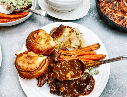Photograph of Slow Cooker Pot Roast Beef with Lashings of Luscious Gravy