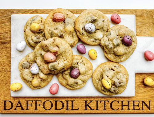 Photograph of Chocolate Mini Egg Cookies